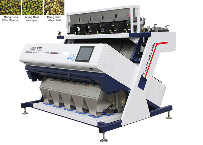 RC5 Bean Color Sorter Machine 220V/50HZ High Action Response Frequency