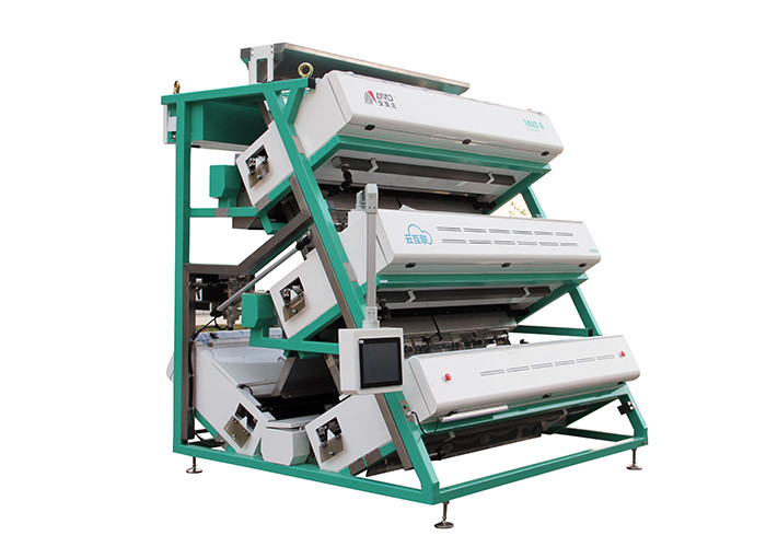 High Resolution Ccd Tea Sorting Machine With Intelligent LED Control System