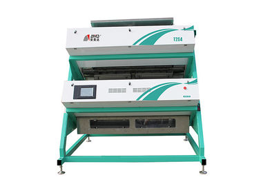 Chiny T2S4 Tea Color Sorter Machine 600 KG/H V Type Sorting Combination Process fabryka
